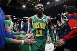 NBA》厄文三分冷箭 綠衫軍延長逆斬七六人
