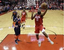 NBA》連7場得分破30分 哈登創紀錄救火箭