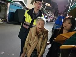 中正二分局泉州所員警協助失智老婦回家