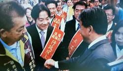 賴清德北極殿上香 拒答台南正副議長看法