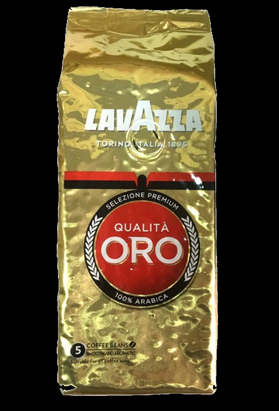 全聯LAVAZZA金袋QUALITA ORO咖啡豆250g,原價342元、明年1月10日前特價285元。(全聯提供)