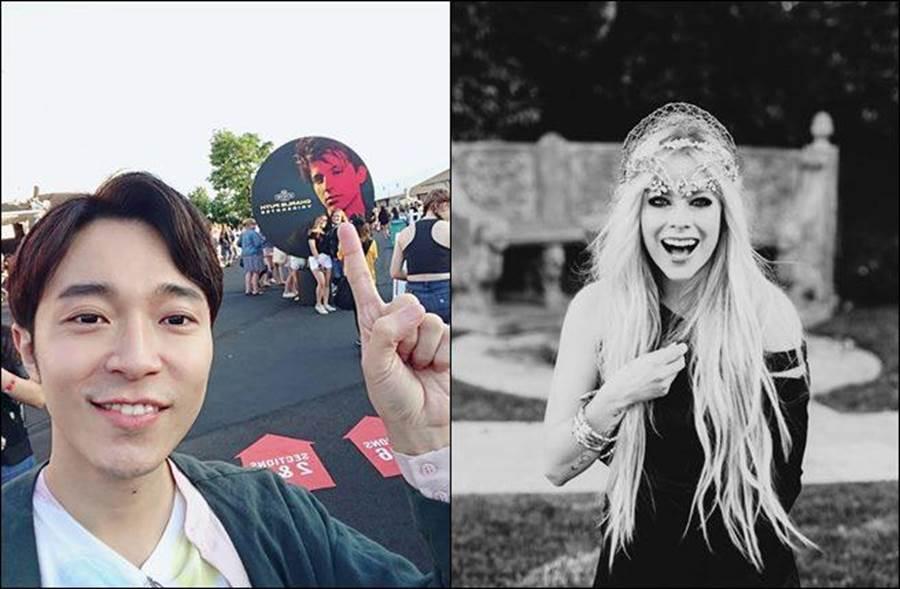 《歌手2019》參賽名單出爐,西洋歌手將在播出才揭曉。(圖/翻攝自吳青峰、艾薇兒臉書)