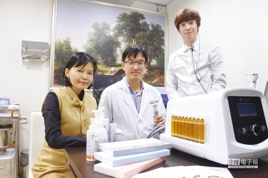 葛萊美醫美、韓國原廠醫美設備及美光生醫Medgene(美德基因)。圖/美光提供