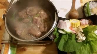紹興酒入味 「土雞腿風味鍋」有家傳花雕雞味道