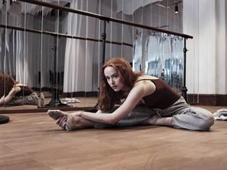格雷女狂操芭蕾舞6個月 紅繩舞衣只遮重點尺度直逼SM