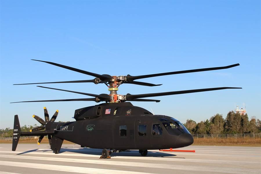 波音與塞考斯基歷經多年研發後,終於公開了SB>1挑戰王超級直升機。(Sikorsky-Boeing)