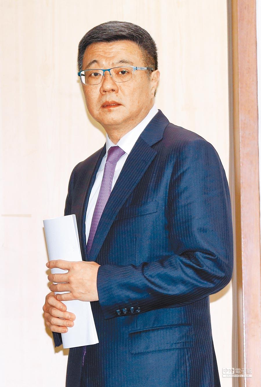 民進黨黨主席候選人卓榮泰。(劉宗龍攝)