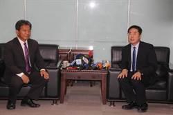 台南市新科議長拜會新科市長,首提凍漲房屋稅,黃偉哲:可行