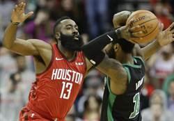NBA》這叫有傷?哈登狂轟45分欺壓綠衫軍