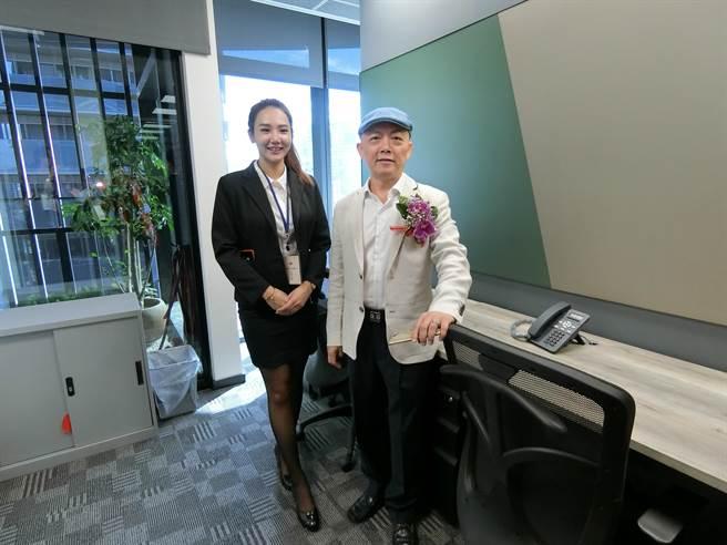 「皇家NTC商務中心」一個辦公位子租金只需台北1/4至1/3開支,就能享受祕書、網路及健身房等五星級的辦公室軟硬體服務。(盧金足攝)