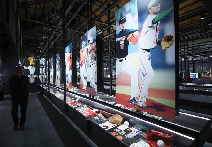 中華職棒30週年特展在台北華山圓滿落幕後,將在7月13日起前進高雄開展,預售票於5月27日開賣。(中央社資料照)