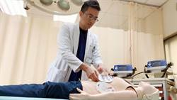 頑固型心室顫動0.1%發生率 醫護急啟「雙電擊」救命