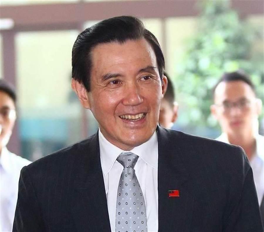 前總統馬英九。(資料照片,陳信翰攝)