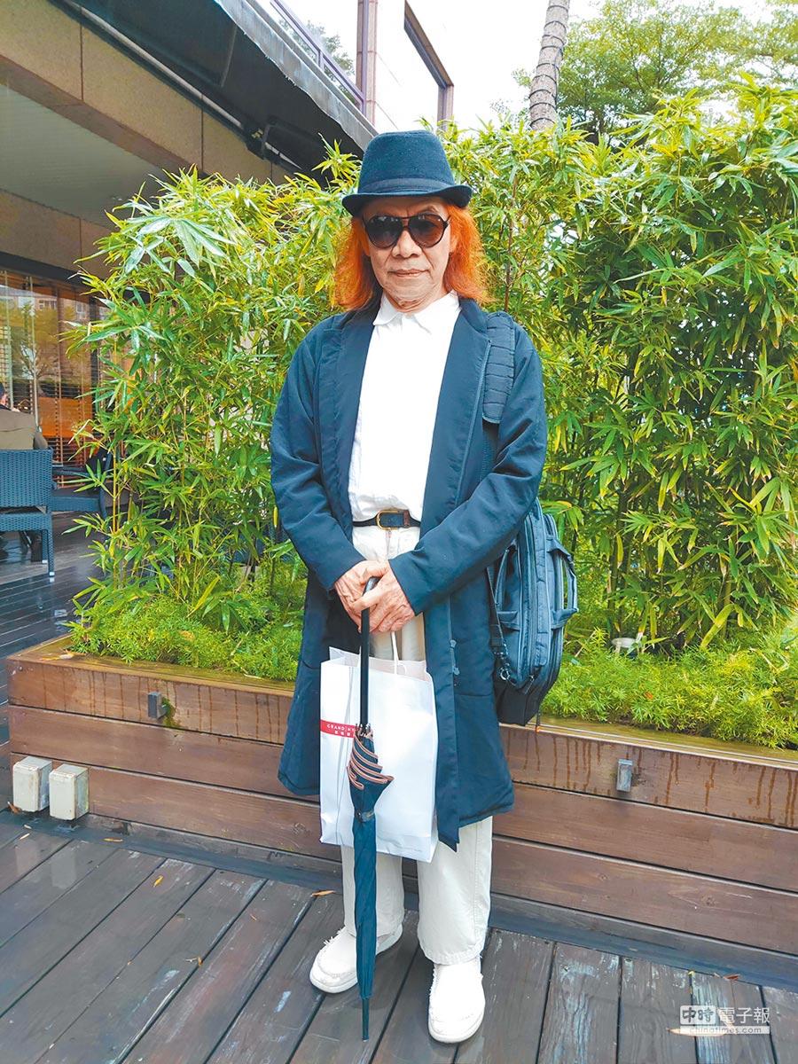 蔡志忠是騰訊泛娛樂大師顧問團一員。(記者廖慧娟攝)