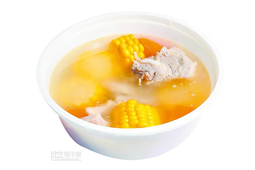 排骨玉米湯,美味又營養。(本報系資料照片)