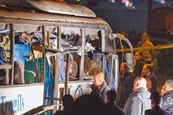 埃及恐攻 遊覽車被炸4死12傷