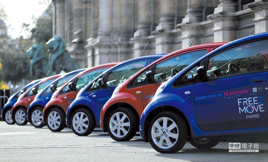 電動車已成汽車產業發展,重要的前景之一。圖/路透