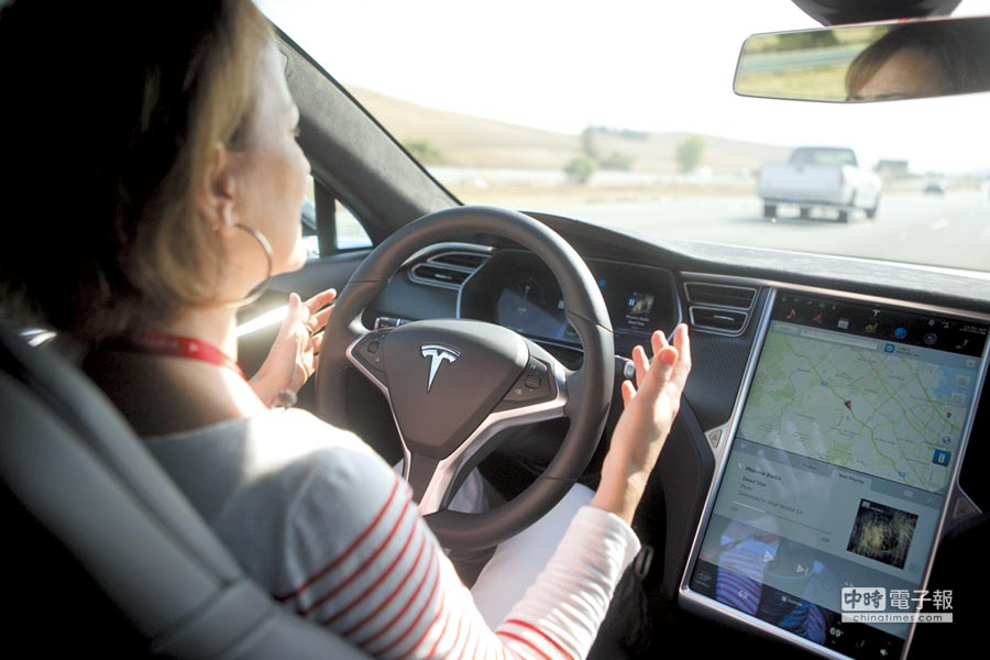 自動駕駛車的終極目標是汽車僅作為移動載具。圖/路透