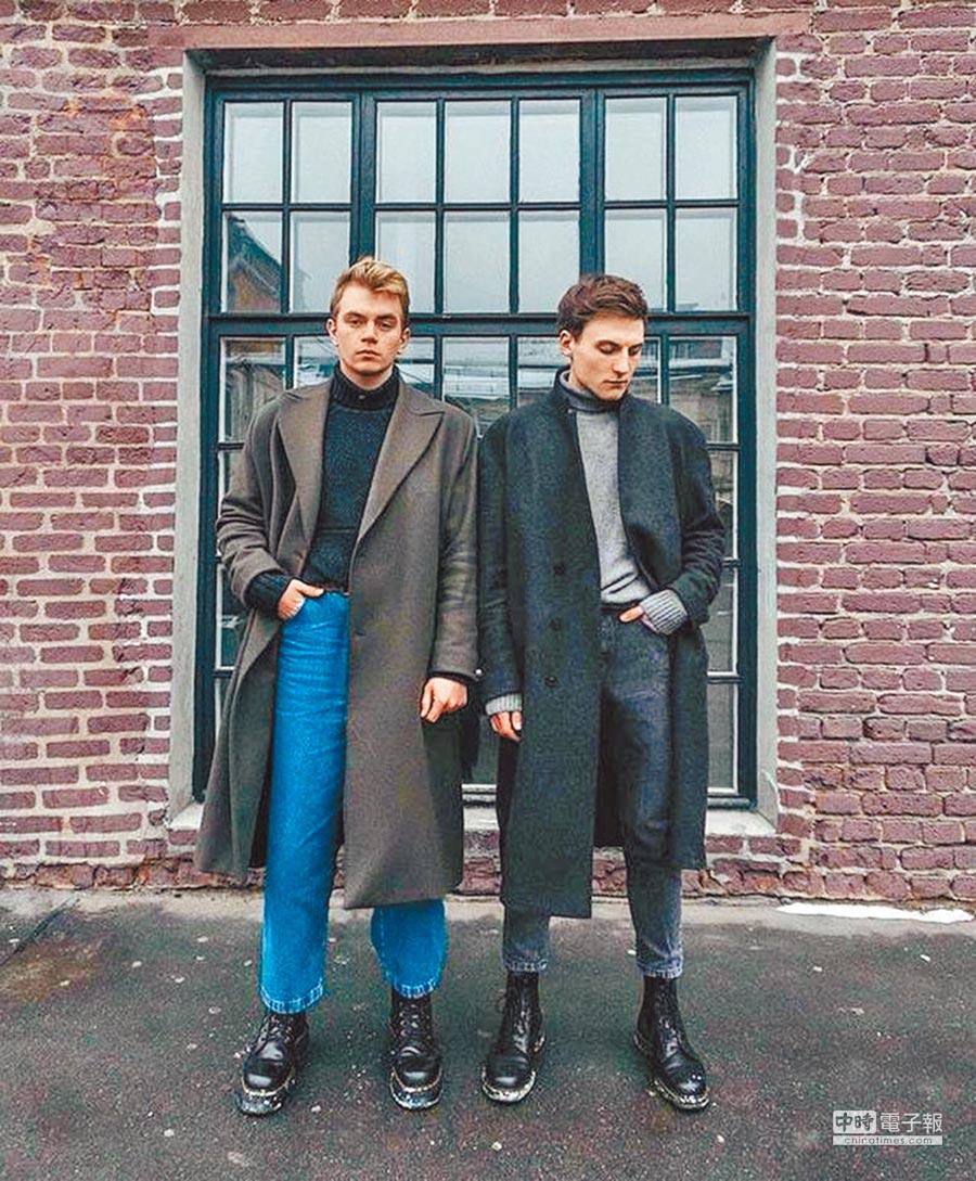 Dr. Martens的1460黑色8孔靴,本是為英國巡警所設,卻大受藍領歡迎,且成為年輕世代彰顯自我態度的方式。圖片提供各品牌