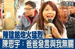 《全台最速報》陳建銘炮火猛烈 陳思宇:爸爸發言與我無關