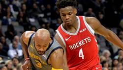 NBA》幸運星降臨 4場先發火箭全勝