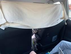 奇怪白布遮前座 女乘客偷看驚覺自己超危險