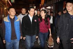 馬英九首次參加台南元旦升旗 31日遊安平老街玩直播