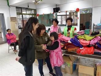 天寒心暖800件愛心衣贈偏遠山區貧童