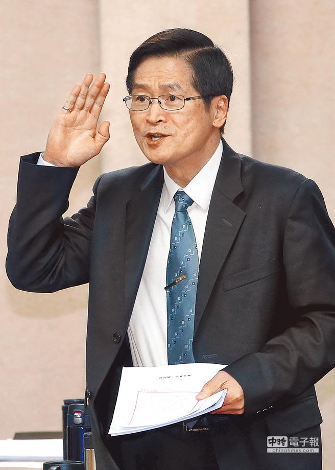國防部長嚴德發自2月底上任。(本報資料照片)