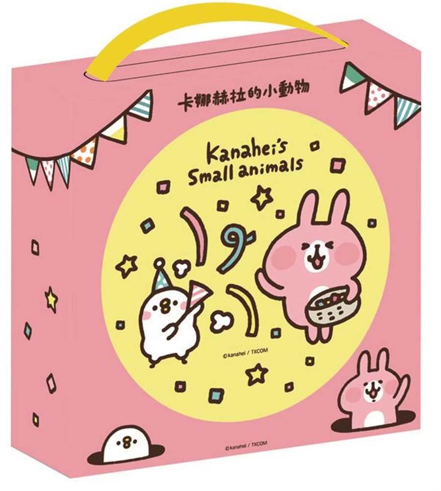 愛買卡娜赫拉的小動物綜合餅乾禮盒,明年1月8日前特價195元。(愛買提供)