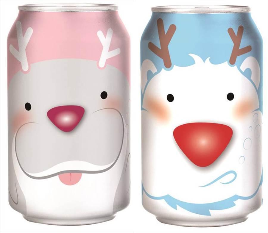 愛買啵啵氣泡清酒330ml,明年1月8日前原價52元、特價46元。(愛買提供)
