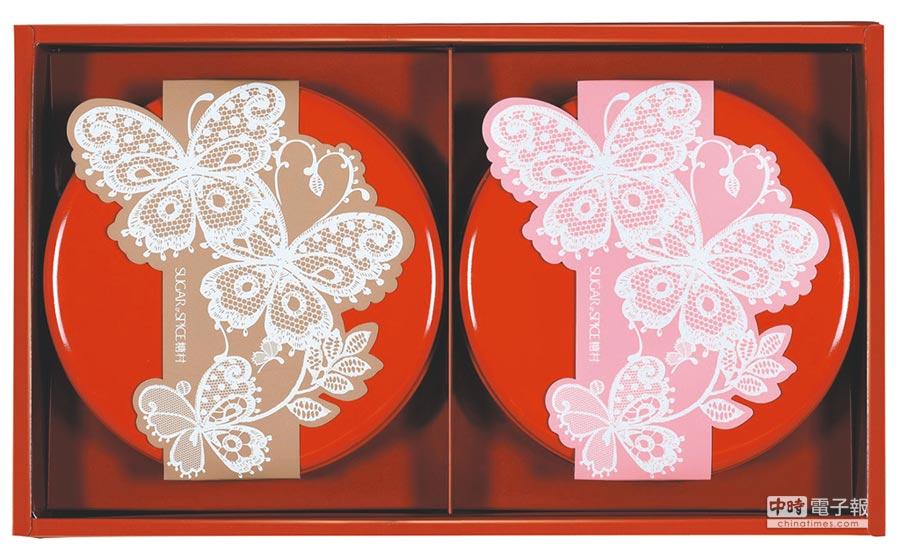 SOGO復興館獨家,「糖村」絹絨花賞,750元盒,限量1000盒。(SOGO提供)