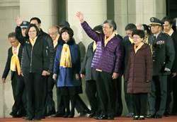 圖輯》總統府前元旦升旗典禮