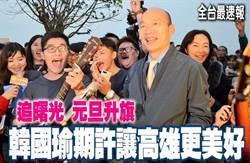 《全台最速報》韓看日出 元旦升旗 期許讓高雄更美好