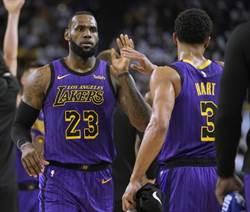 NBA》2019中國賽由詹姆斯率領湖人登場演出