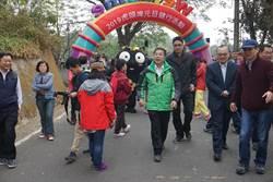 黃偉哲主持元旦升旗典禮  期許台南市今年做得更好