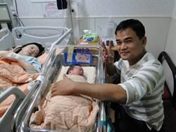 花蓮門諾4位元旦寶寶報到  這對龍鳳胎最受矚目