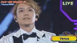 瀧澤秀明含淚「最後演出」百位偶像回歸伴舞 熱唱經典〈Venus〉