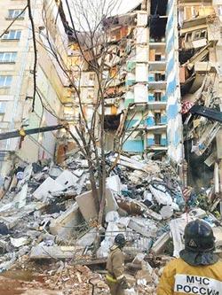 俄大廈氣爆 逾4死68失蹤