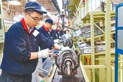 陸上月製造業PMI 跌破榮枯線