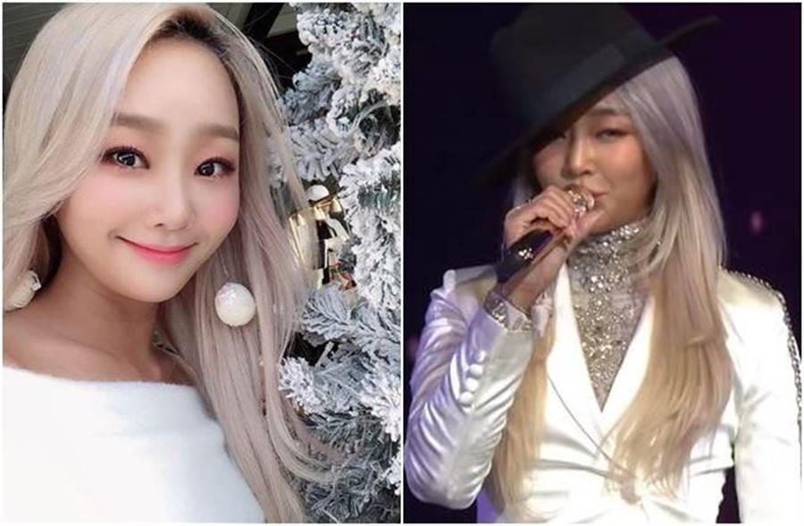 孝琳受邀擔任「KBS演技大賞」表演嘉賓。(圖/翻攝自youtube)