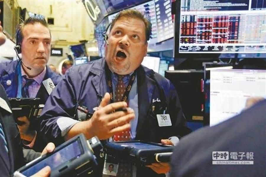 美股寫下2008年以來最差全年表現。(美聯社資料照片)