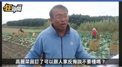 用國家力量霸凌小菜農 林佳新爆氣嗆農糧署:踹共!