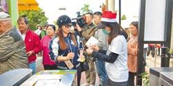 花博市民專用道啟用 湧5.6萬遊客