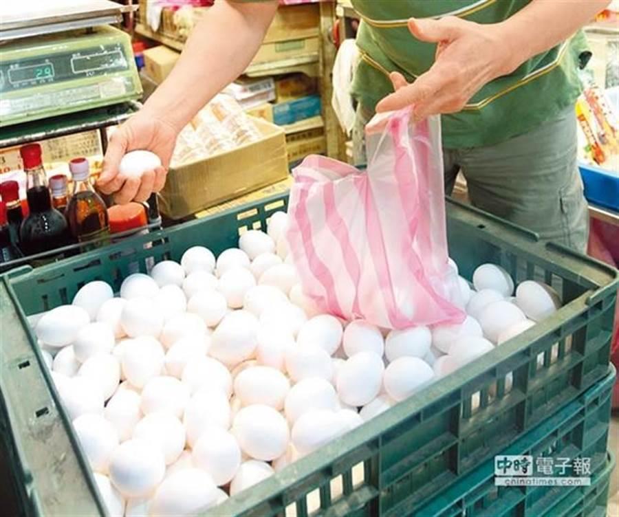 圖為雞蛋(資料照 趙雙傑攝)