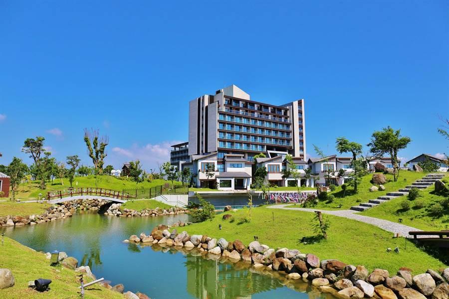 綠舞國際觀光飯店全景。圖;綠舞提供