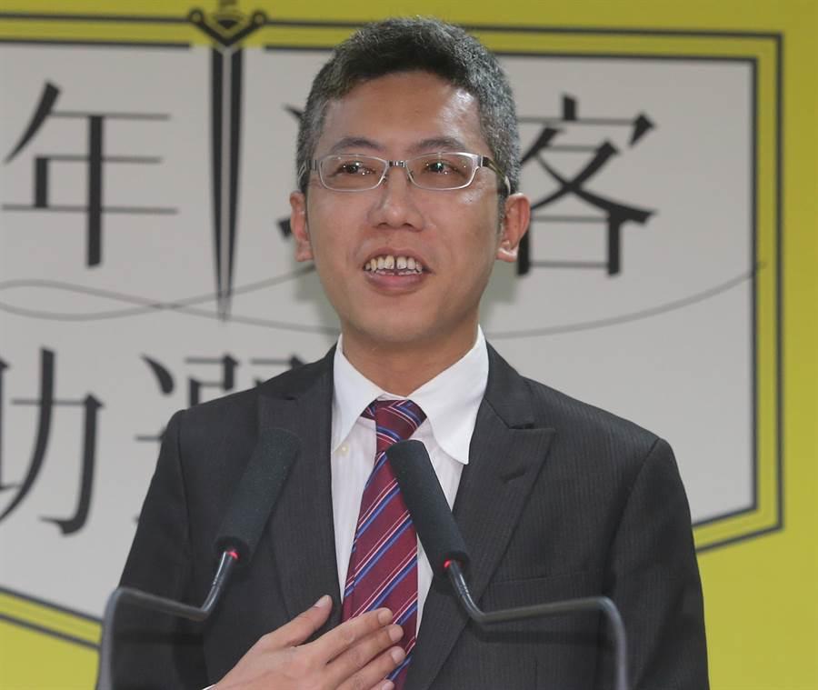 民進黨新聞部主任丁允恭指並未改變初選規則。(圖/本報資料照片)