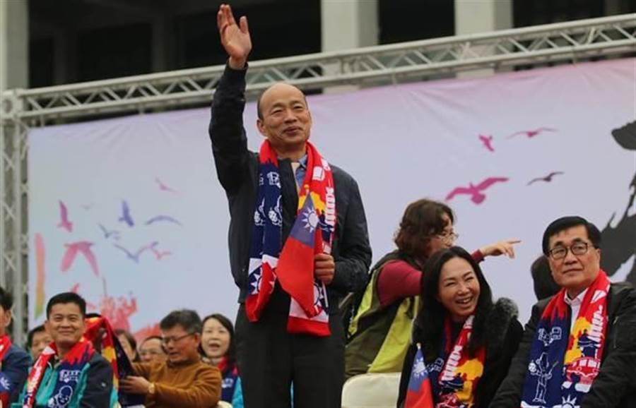 命理師江柏樂說,鼠年的韓國瑜影響力更大,不僅影響國民黨的聲勢,也影響全台經濟流年。(圖/中時資料照劉宥廷攝)
