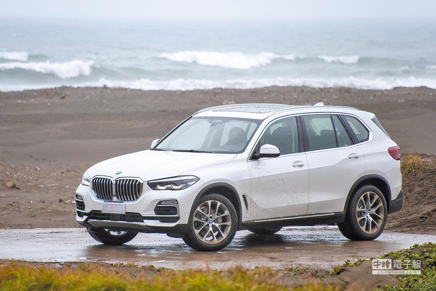 2.BMW X5獲得2018 EURO NCAP五顆星評價。(陳大任攝)