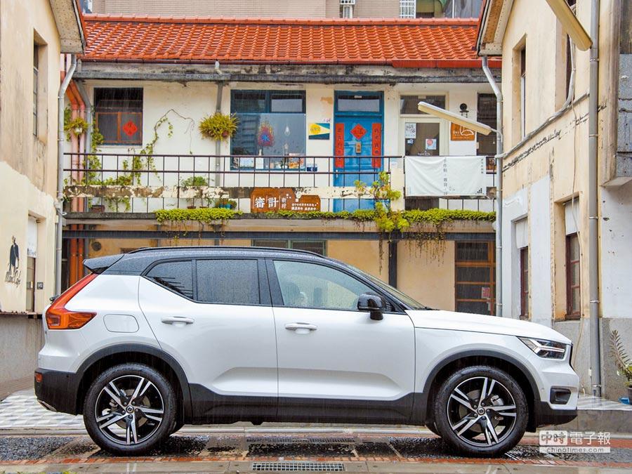 3.VOLVO XC40獲得2018 EURO NCAP五顆星評價。(陳大任攝)
